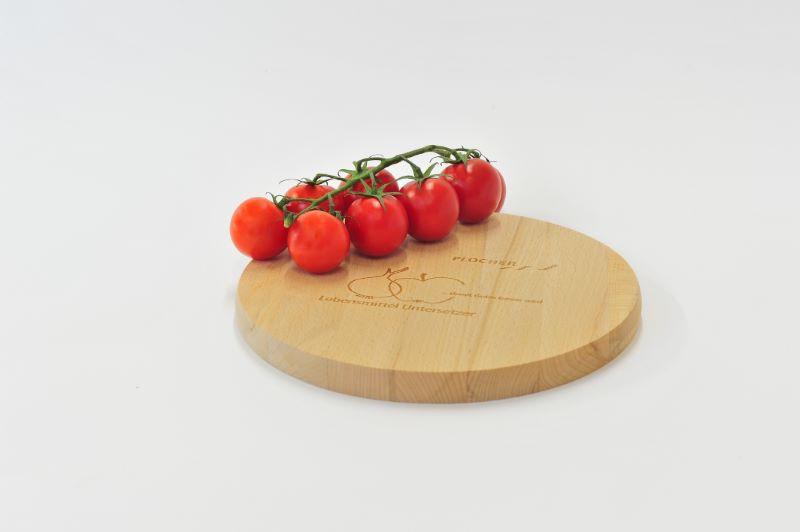 plocher holzuntersetzer f r lebensmittel rund 25 cm. Black Bedroom Furniture Sets. Home Design Ideas
