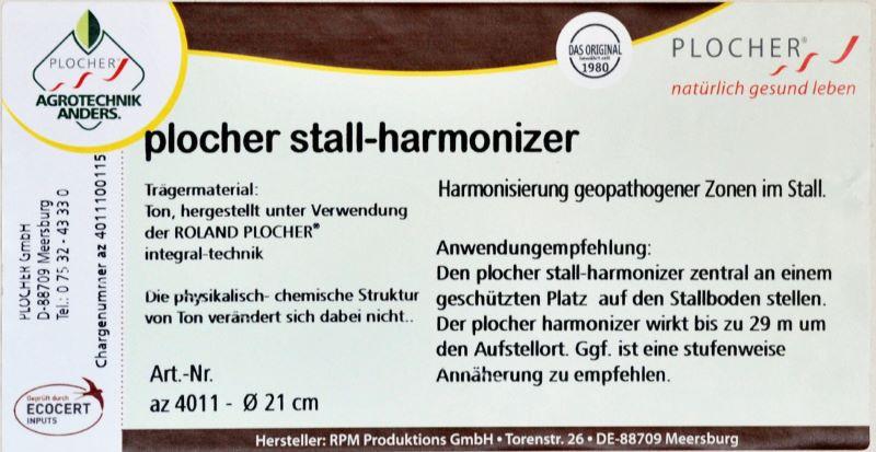 plocher stall-harmonizer