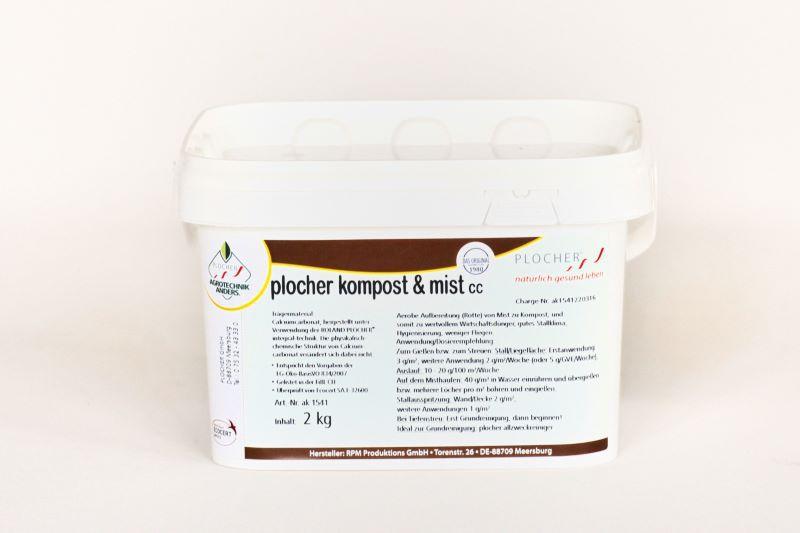 plocher kompost & mist cc 2 kg
